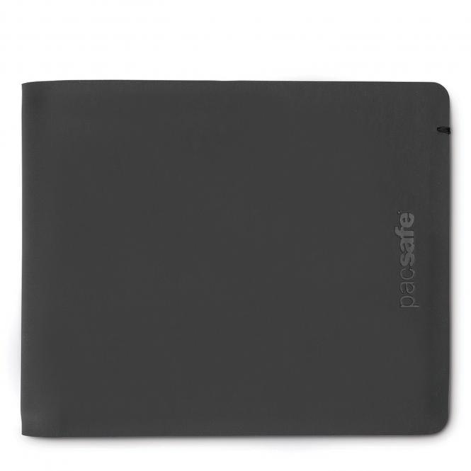 Bifold Geldbörse mit RFID-Schutz Black