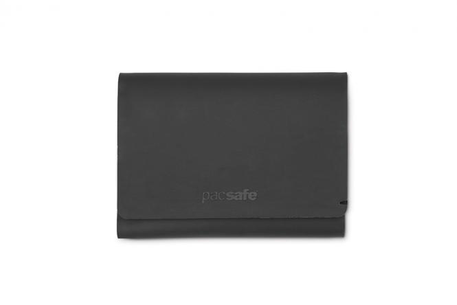 Trifold Geldbörse mit RFID-Schutz Black