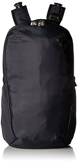 Anti-theft 25L backpack schwarz