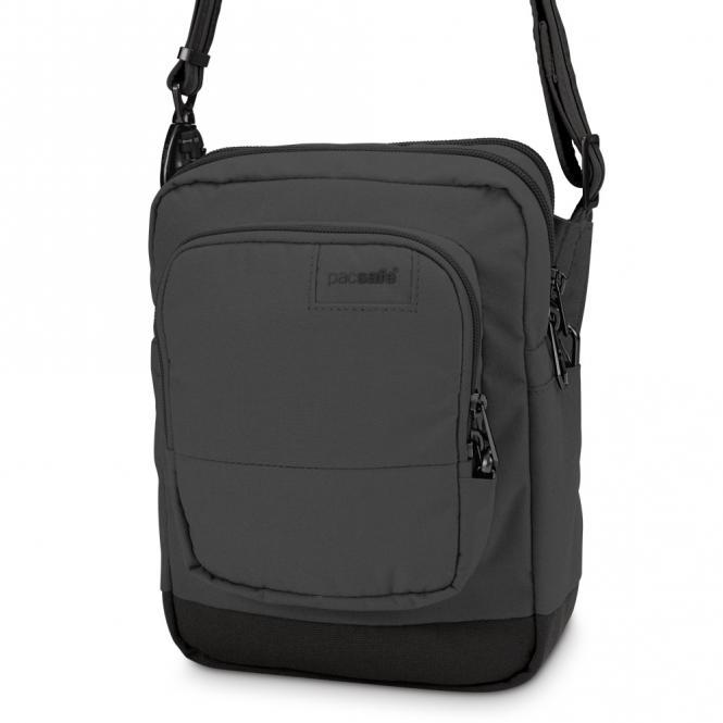 LS75 Anti-Diebstahl Cross-Body-Reisetasche Black