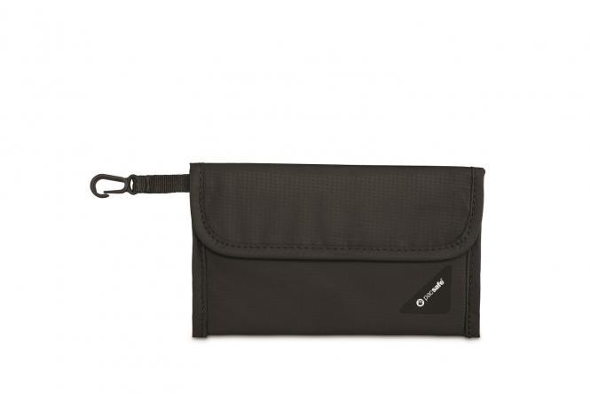 V50 RFID-blockierende Reisepass-Schutzhülle Black