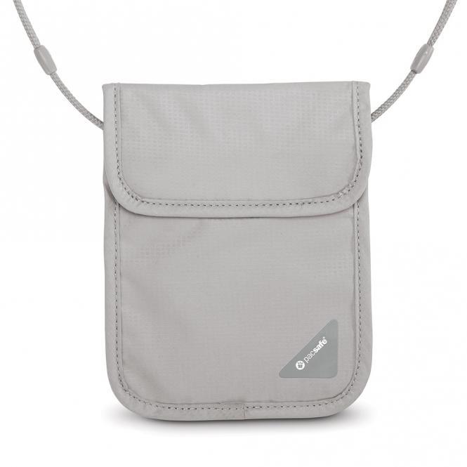 X75 RFID-blockierender Sicherheits-Brustbeutel Neutral Grey