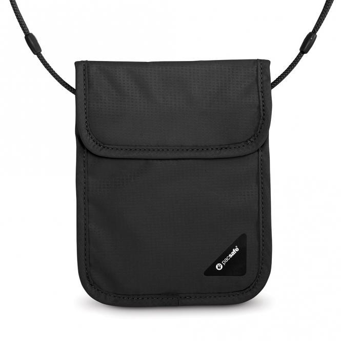 X75 RFID-blockierender Sicherheits-Brustbeutel Black