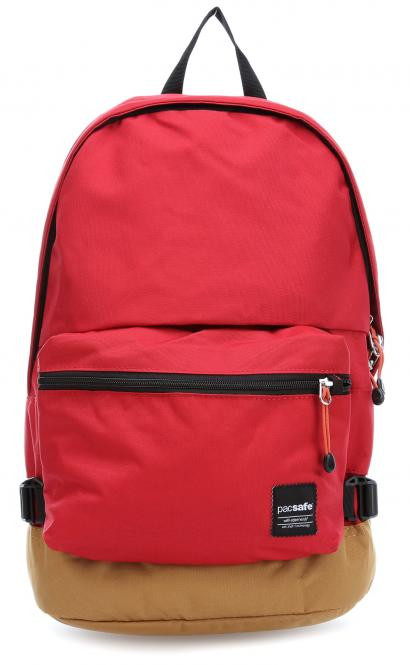 LX400 Anti-Theft Rucksack mit RFID-Schutz Chilli Khaki