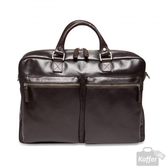 Männertasche Leder 29 cm 5209