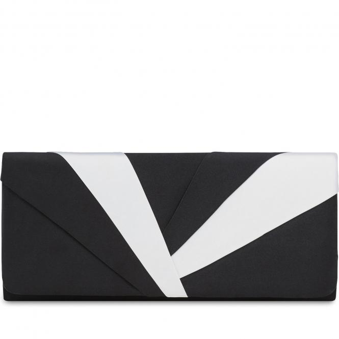Damentasche 2495 Schwarz-Weiß-Kombi