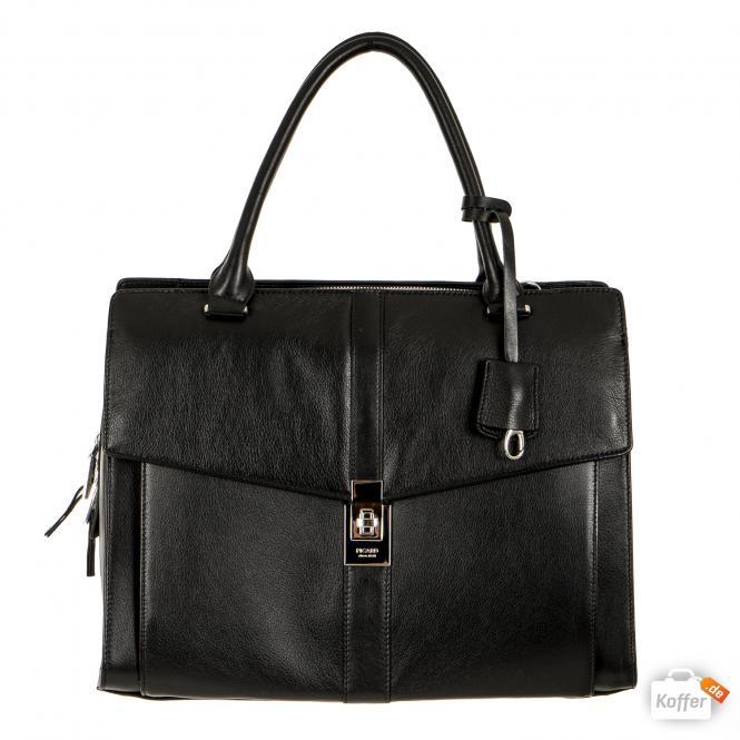 Damentasche aus Leder 9019 Schwarz