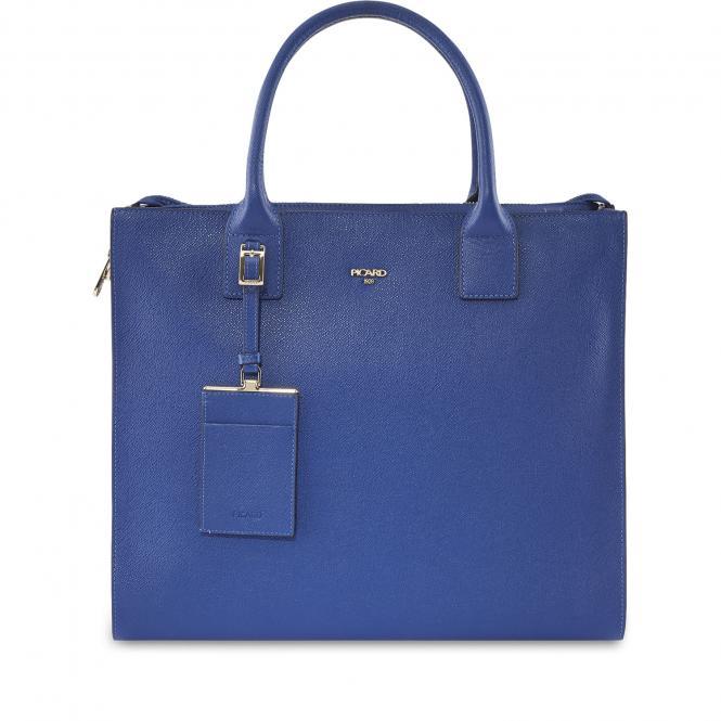 Shopper Leder 8745 Atoll