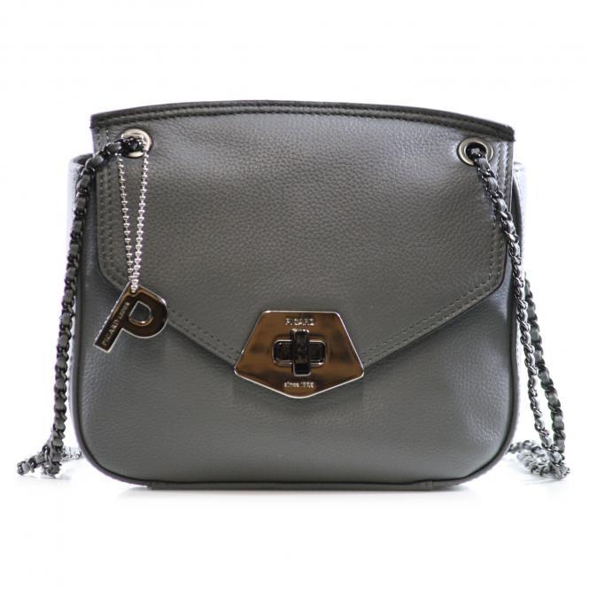 Rindleder Damentasche 8293 Graphit