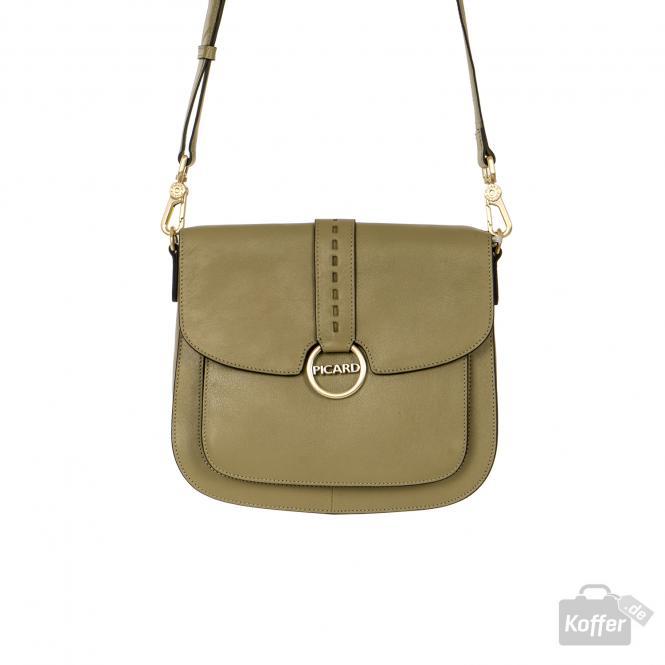Damentasche aus Leder 9024 matcha