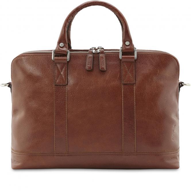 Männertasche 4264 Cognac