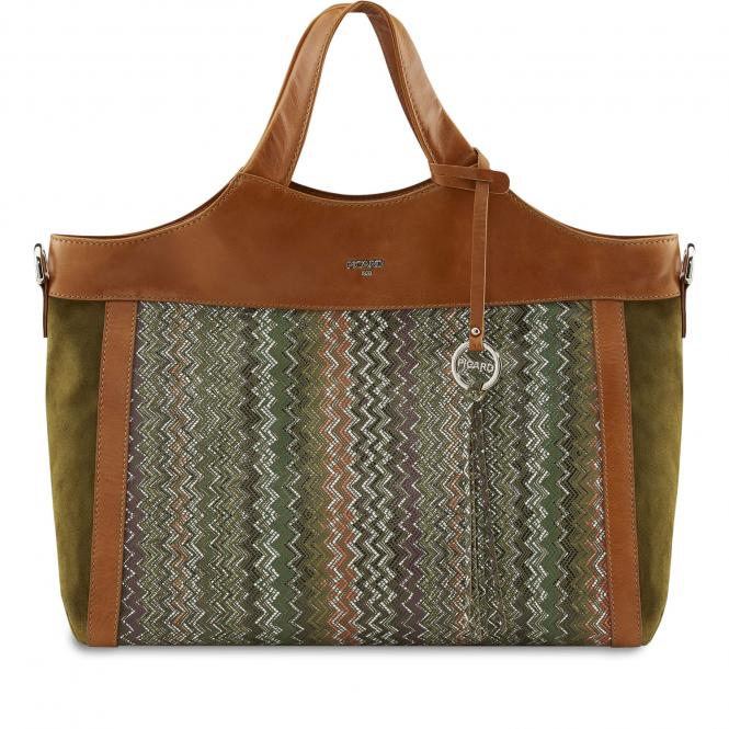 Shopper 4428 Olive-Mix