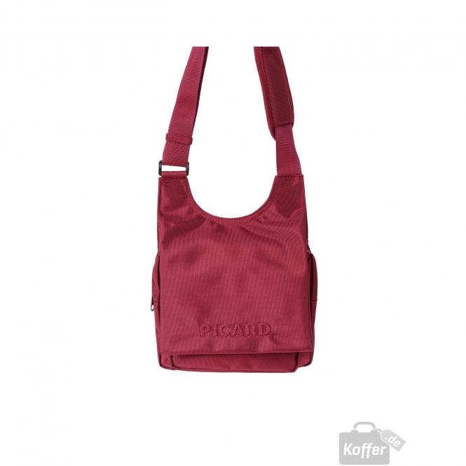 Schultertasche 24cm Rot