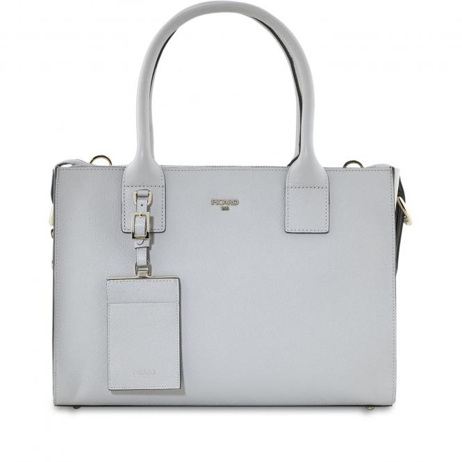 Damentasche Leder 8744 Kiesel