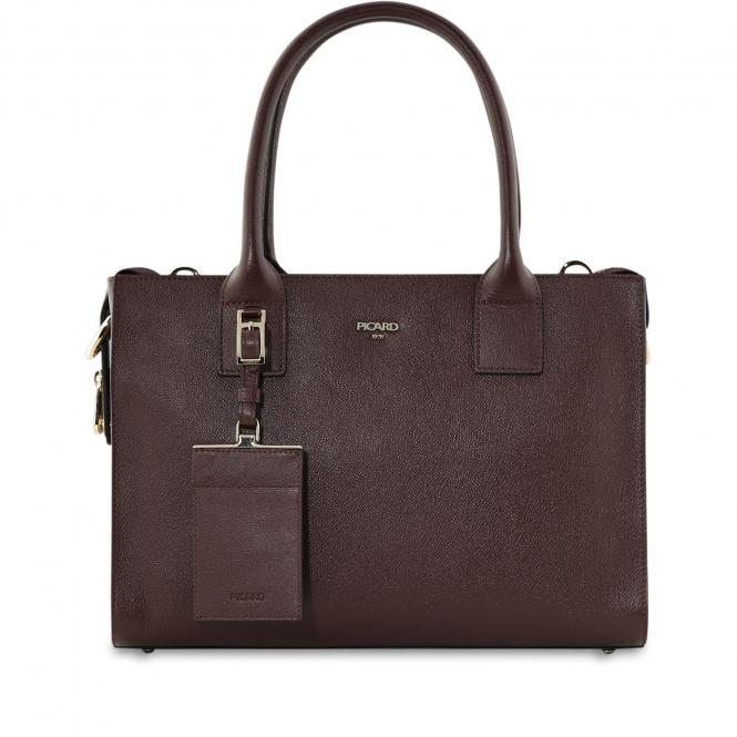Damentasche Leder 8744 Vino