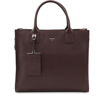 Shopper Leder 8745 Vino