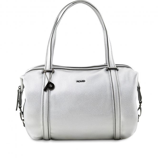 Damentasche Shopper 2410 silber