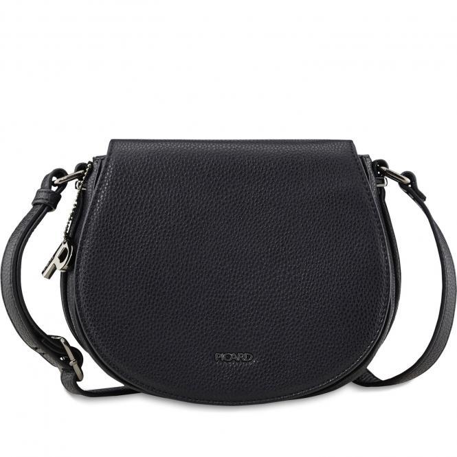 Damentasche Schultertasche 2412 schwarz
