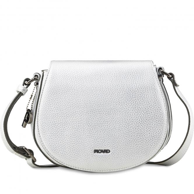 Damentasche Schultertasche 2412 silber