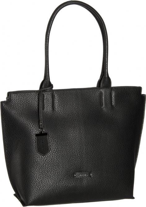 Shopper Damentasche 45 cm Schwarz