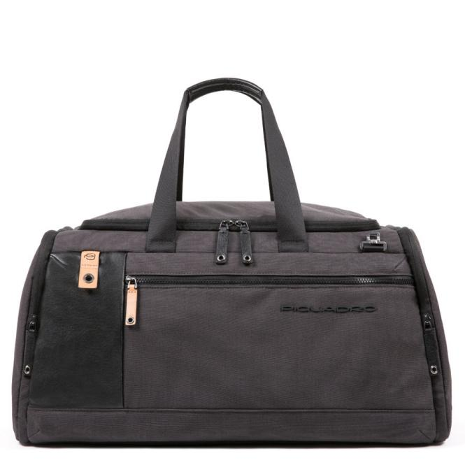 Reisetasche mit Trolley-Schlaufe schwarz