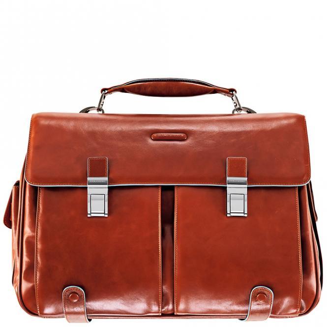 """Laptoptasche 15.6"""" mit Tabletfach und Vortaschen Orange"""