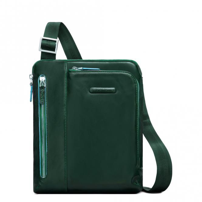 """Umhängetasche mit iPad Air/Pro 9,7"""" Fach verde foresta"""