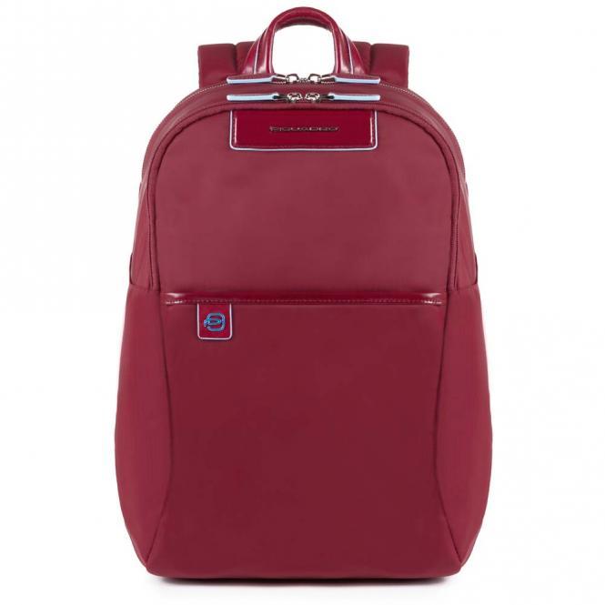 Rucksack mit herausnehmbarer PC-, iPad®Pro/iPad®mini-Hülle mit Orga-Fächern rot