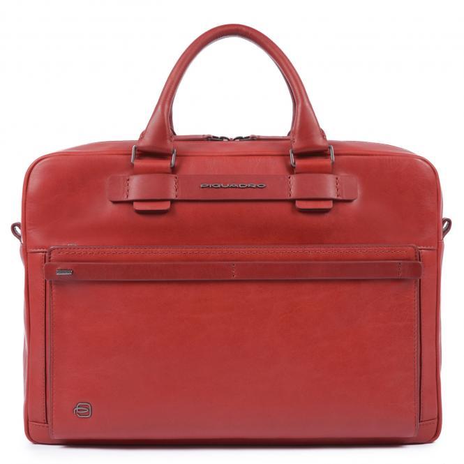 Kurzgrifflaptoptasche mit iPad®10,5''/14 Zoll-Fach rot