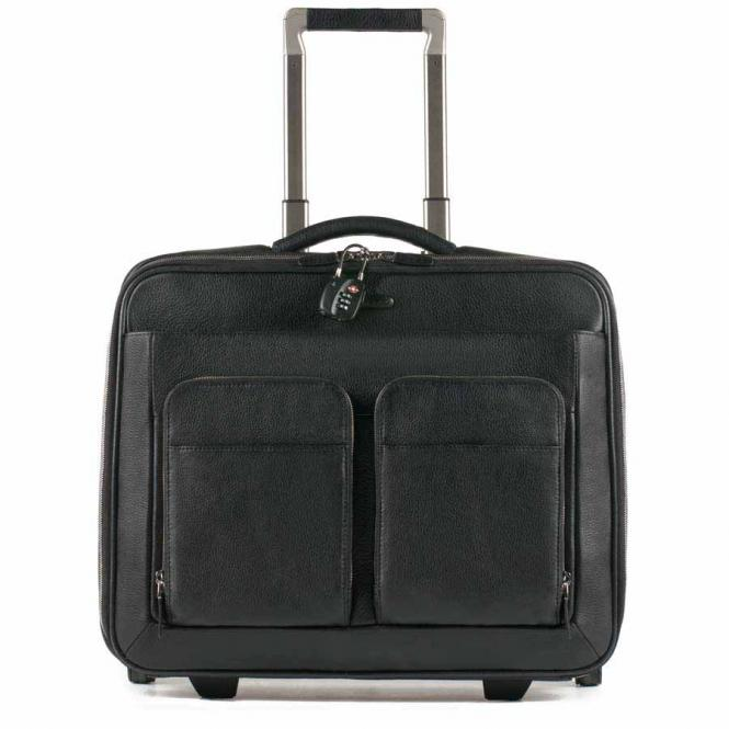 "Business-Trolley mit Laptopfach 15.6"" schwarz"