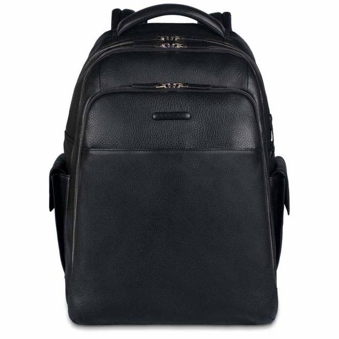 """Rucksack mit Laptopfach 15"""" schwarz"""