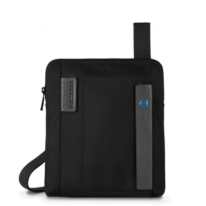 Umhängetasche mit iPad Air/Air2-Fach schwarz