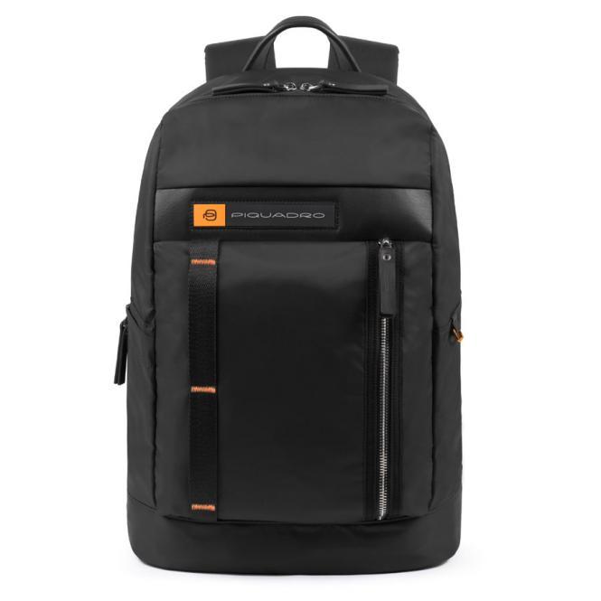 """Laptoprucksack 15,6"""" und Flaschen-/Schirmtasche schwarz"""