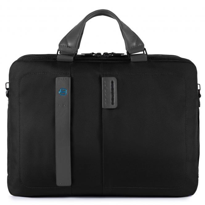 """Kurzgrifflaptoptasche mit Laptopfach 15.6"""" schwarz"""