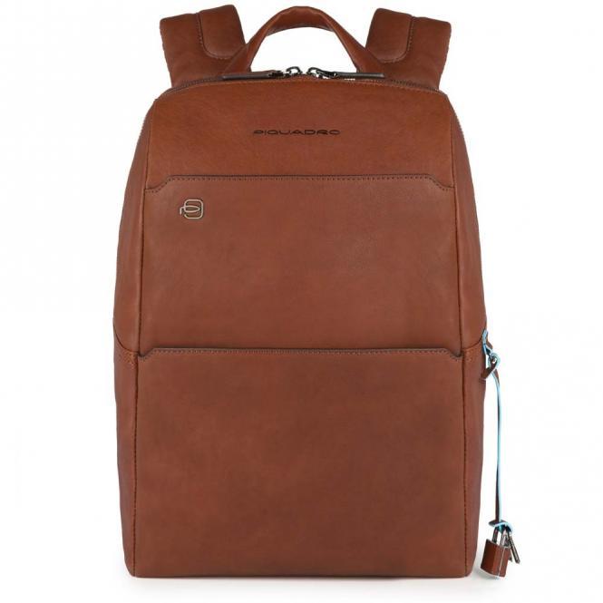 """Laptop-Rucksack mit Tablet- und Laptopfach 13.3"""" und CONNEQU cuoio tabacco"""