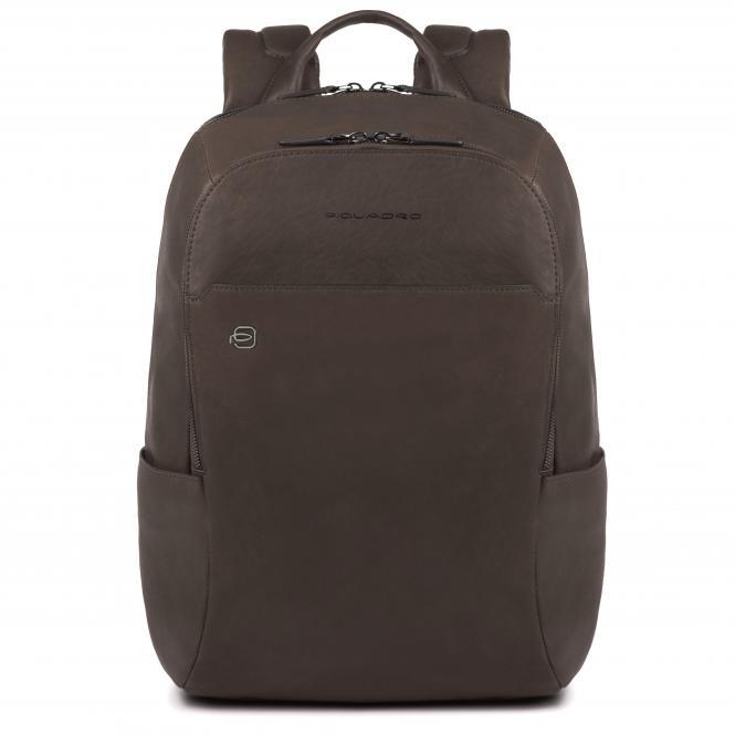 """Laptop-Rucksack 14"""" mit Tabletfach, Regenschirmtasche/Flaschenhalter und CONNEQU dunkelbraun"""