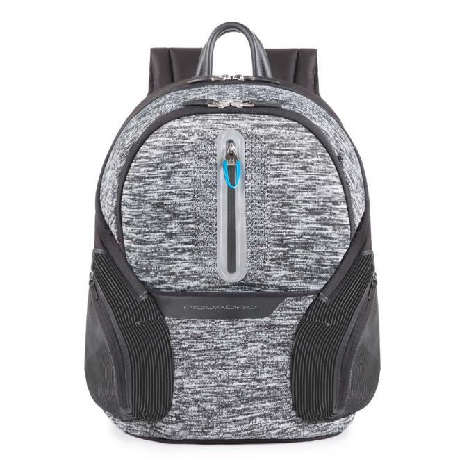 """Laptop-Rucksack 13.3"""" mit USB-Anschluss Grau"""