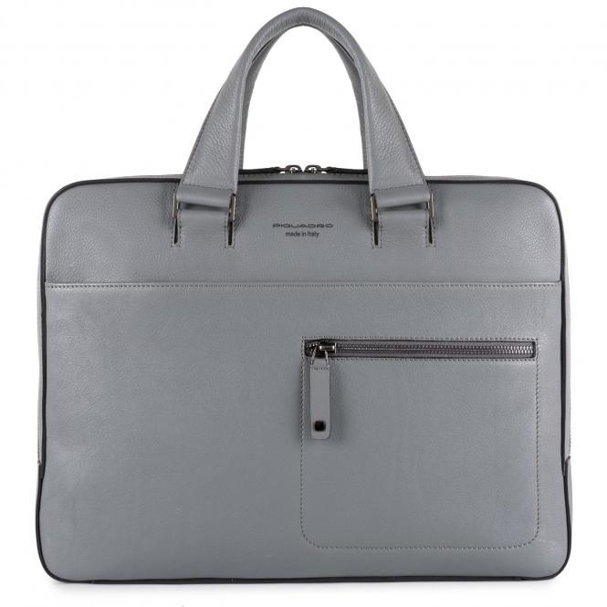 """Schmale Laptoptasche mit auswechselbaren Griffen 14"""""""