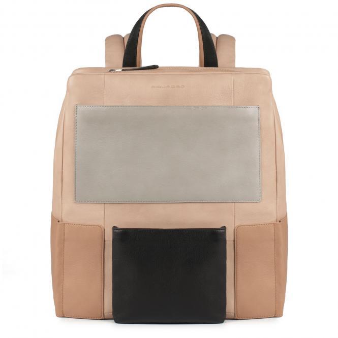 Laptop-Rucksack mit gepolstertem iPad® -Fach beige