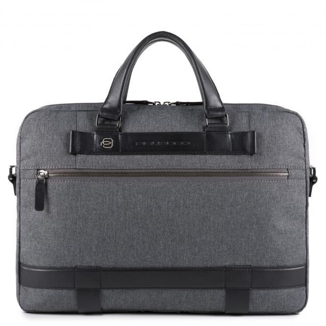 "Kurzgriff-Laptoptasche 15"" grigio"
