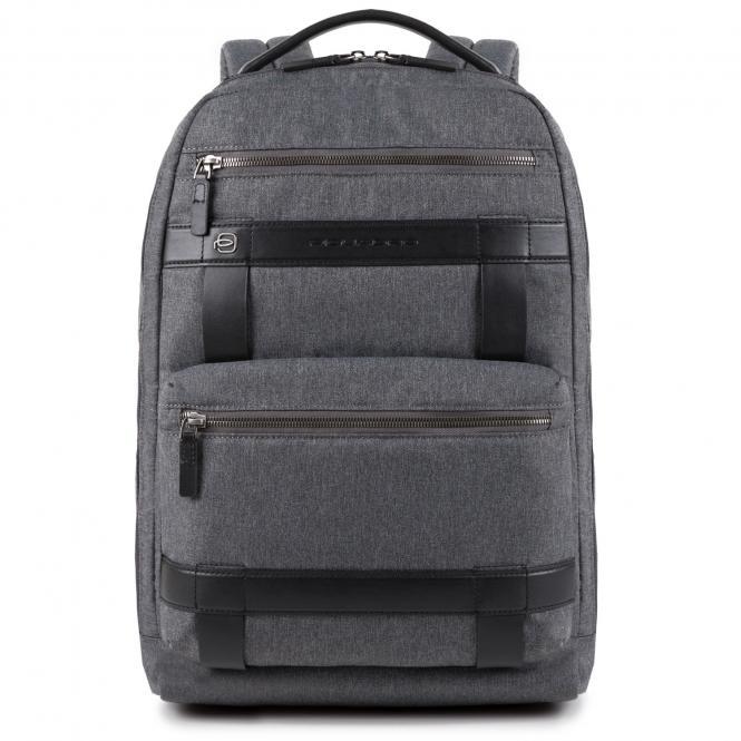 """Großer Laptop-Rucksack 14"""" grigio"""