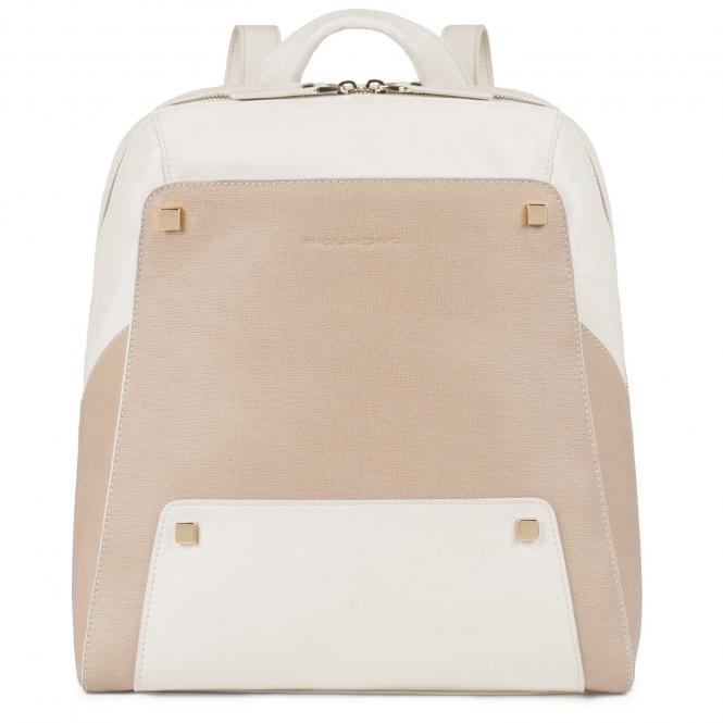 """Laptop-Rucksack 12"""" beige"""