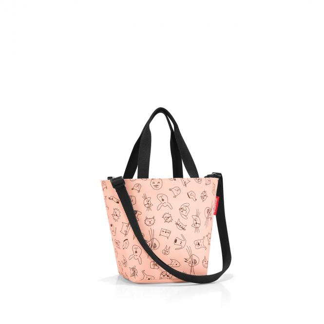 shopper XS cats and dogs rose