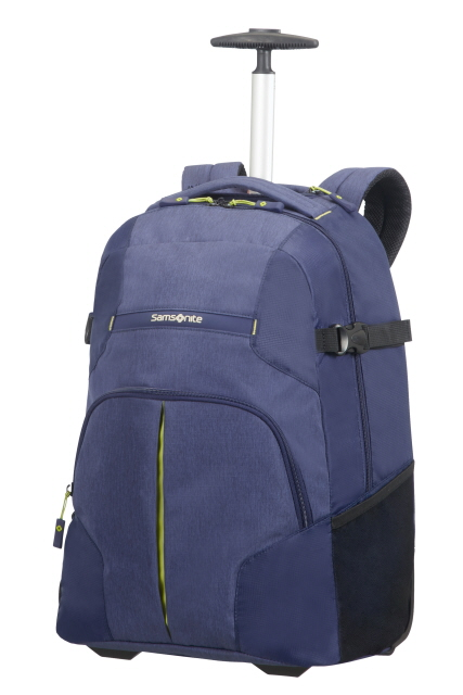 Laptop Rucksack 2 Rollen 55cm Dark Blue