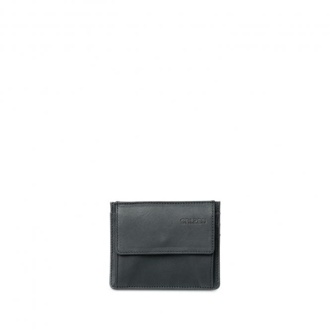 Card & Coin Wallet Total Black