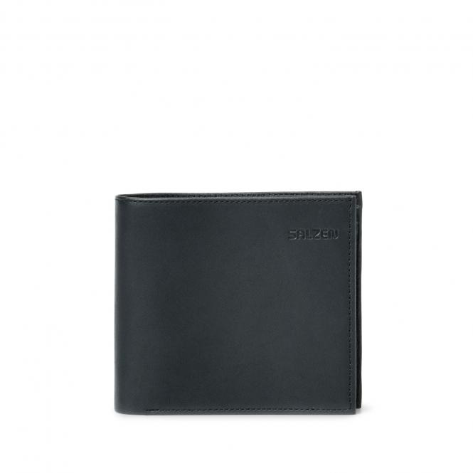 Trifold Horizontal Wallet Total Black