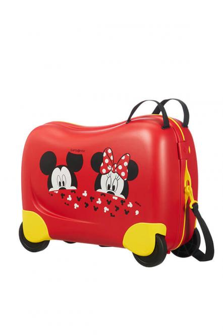 Trolley 4R 50cm Mickey/Minnie Peeking