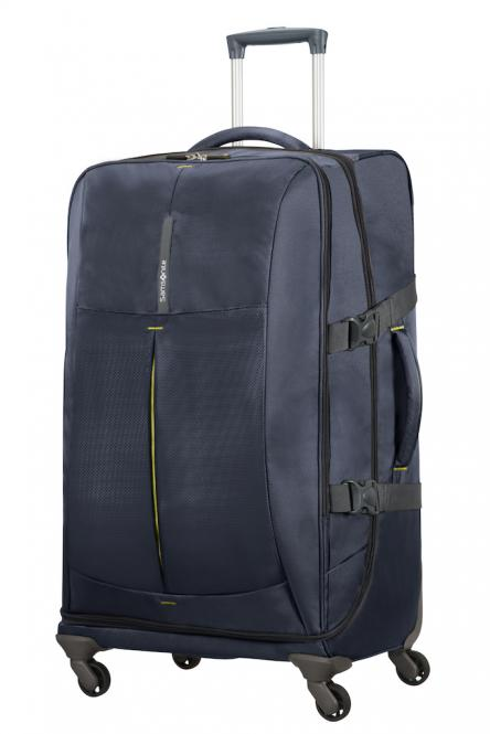 Spinner Duffle 77cm Midnight Blue/Yellow