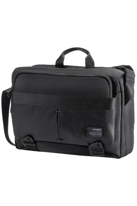 "Laptop Messenger 16"" erweiterbar Jet Black"
