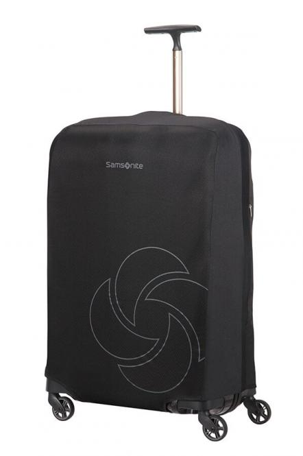 faltbare Kofferhülle L/M Schwarz